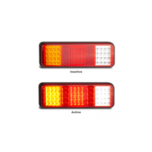 LED Autolamps - 283 Series Stop/Tail - Indicator - Reverse