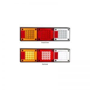 LED Autolamps - 460 Series Stop/Tail - Indicator - Reverse
