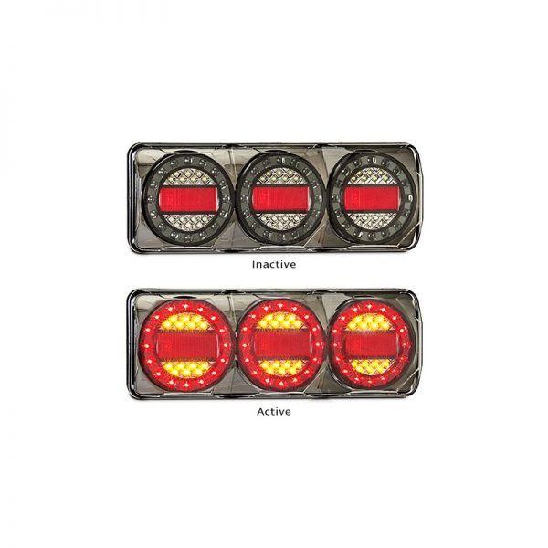 LED Autolamps - Maxilamp 3 Stop/Tail - Indicator