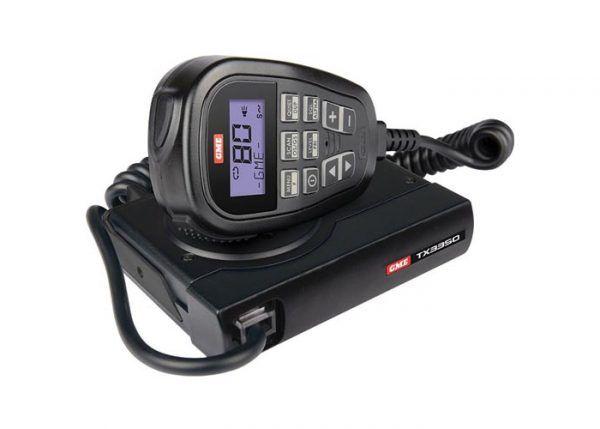 GME TX3350 - 5 WATT SUPER COMPACT UHF CB RADIO - LCD SPEAKER MIC