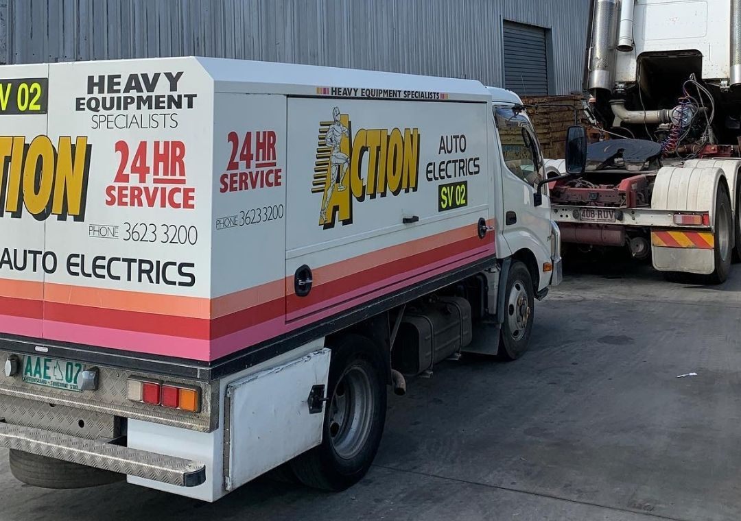 photo of Action Auto's Van | Featured image for car electrical repairs